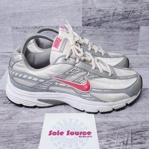 Nike Initiator Running Sneakers silver pinksz 10